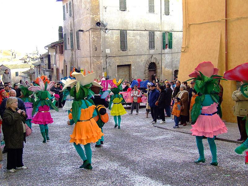 Sfilata in maschera del Carnevale di Ronciglione