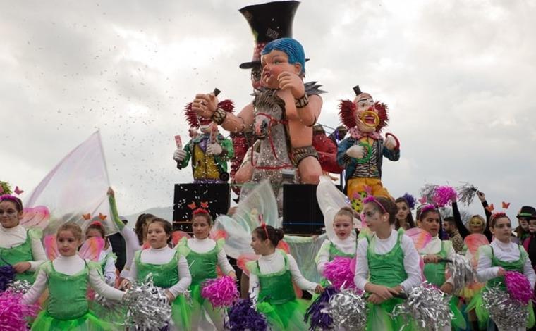 Sfilata di carri allegorici e gruppi in maschera, Carnevale di Pontecorvo.