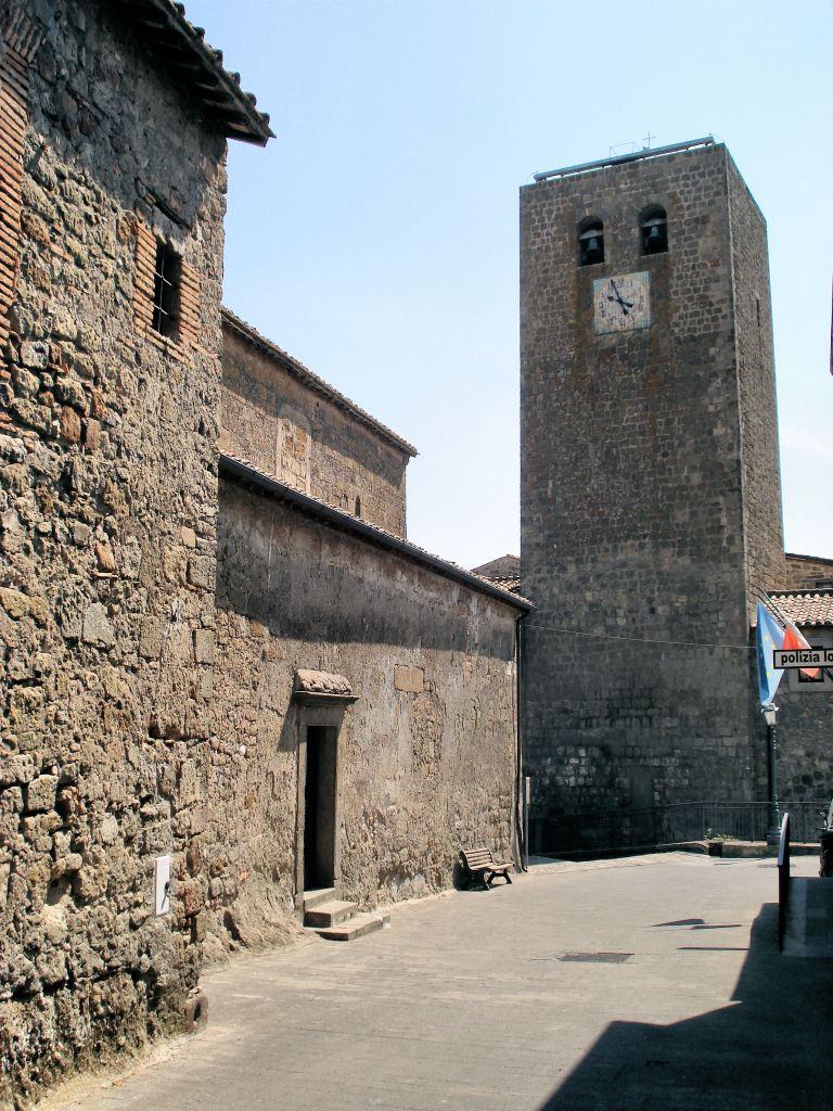 Bassano in Teverina - Torre dell'Orologio