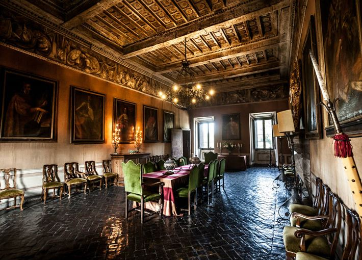 Castello Ruspoli - Sala interna