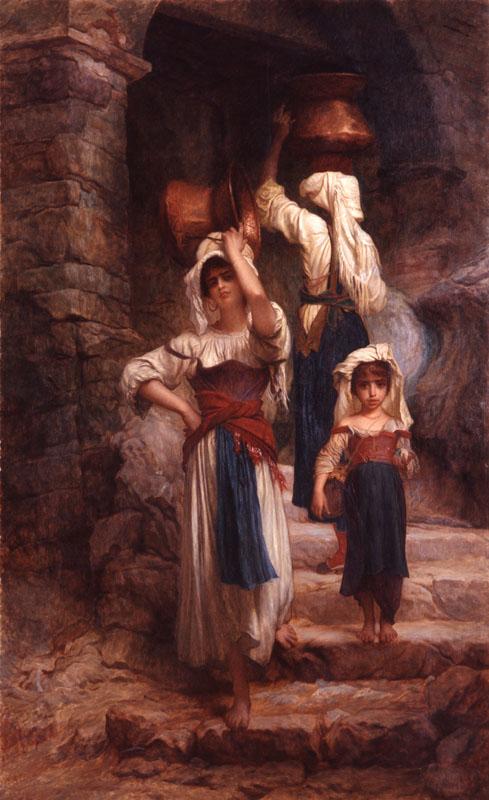 Les Cervaroles di Antoine August Hébert