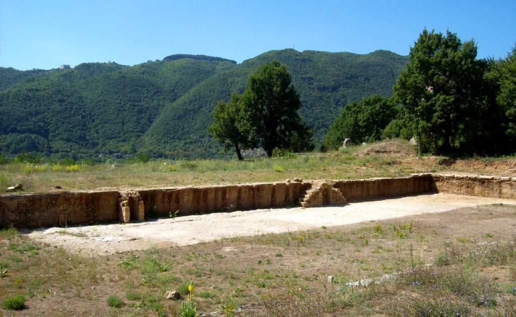 Terme di Vespasiano, il complesso termale costruito in epoca romana nel territorio di Castel Sant'Angelo.