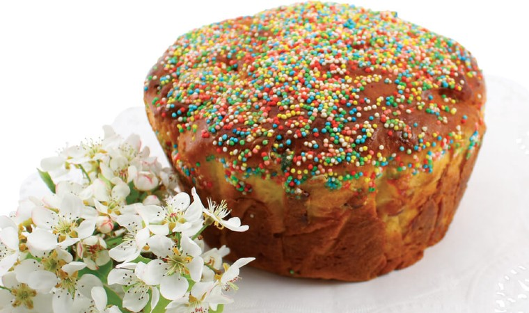Il Tortolo ciociario, una variante dolce della Pizza di Pasqua della cucina romana.