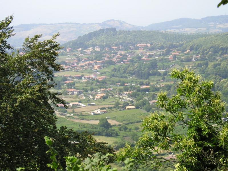 Rocca di Papa - Vista Panoramica dal Maschio delle Faete