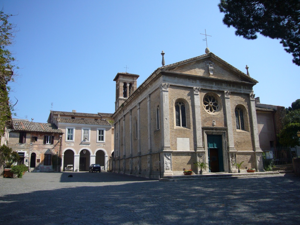 Borgo di Ostia Antica - Basilica di Sant'Aurea