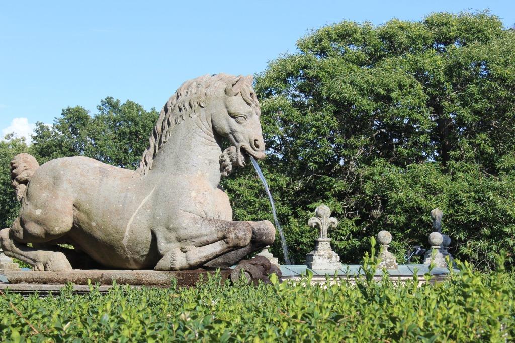 Caprarola - Dettaglio dei Giardini di Palazzo Farnese