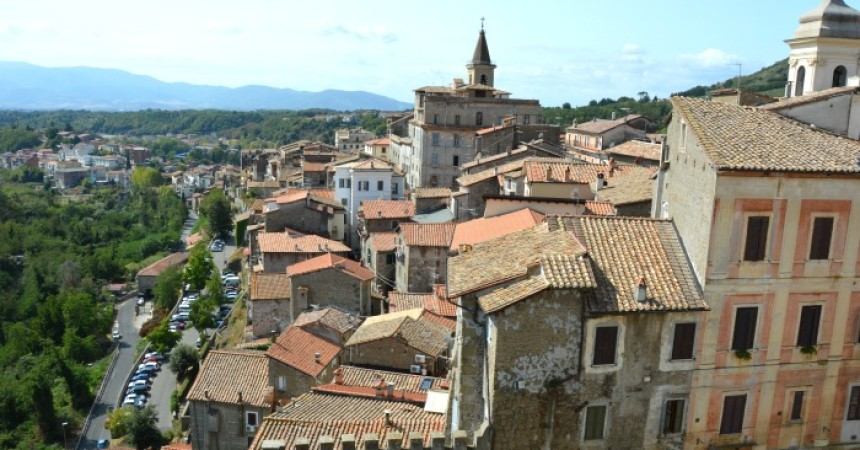 Genazzano - Vista Panoramica. Credits: bussoladiario.com