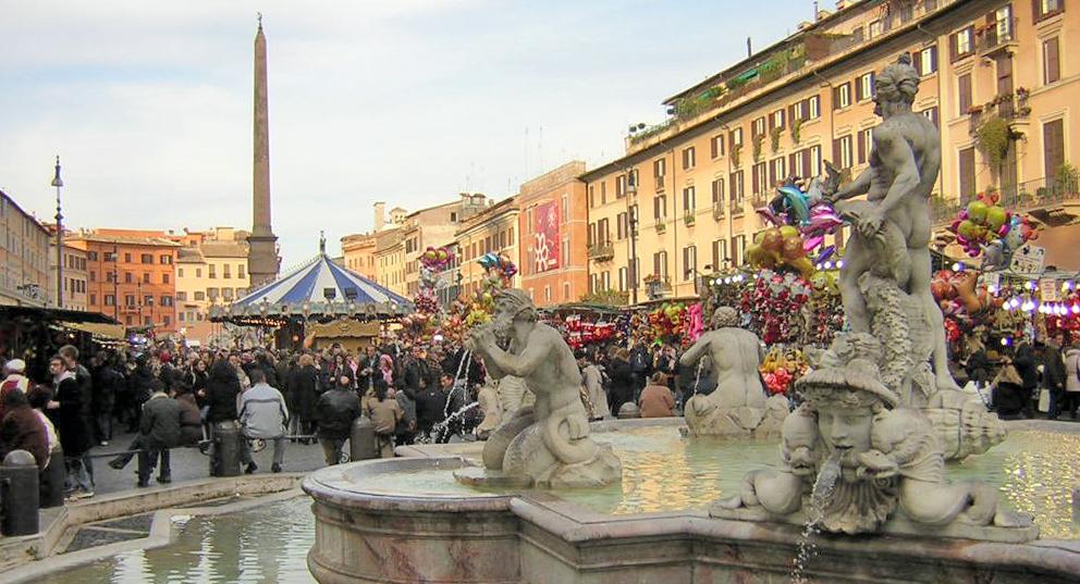 Befana a Piazza Navona - Roma