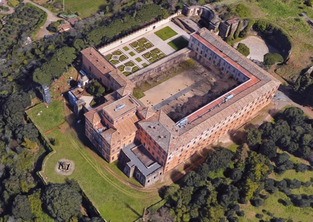 Villa Mondragone - Monte Porzio Catone - Vista dall'alto