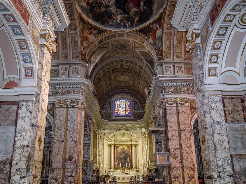 Concattedrale Santa Maria Assunta - Interno - Credit: Compagnia Lepini