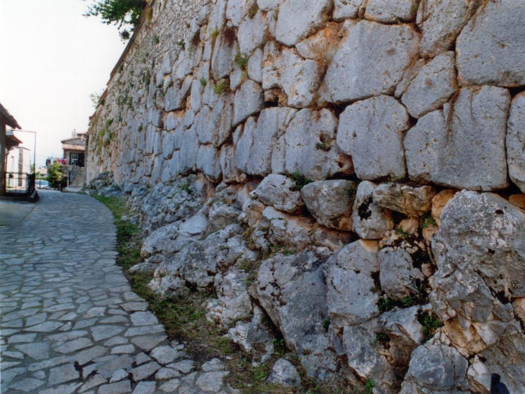 Segni - Mura Ciclopiche - Credit: Compagnia Lepini