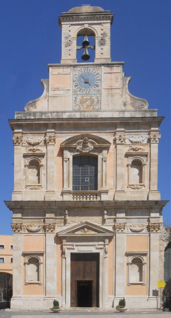 Gaeta Medievale - Chiesa dell'Annunziata - Facciata
