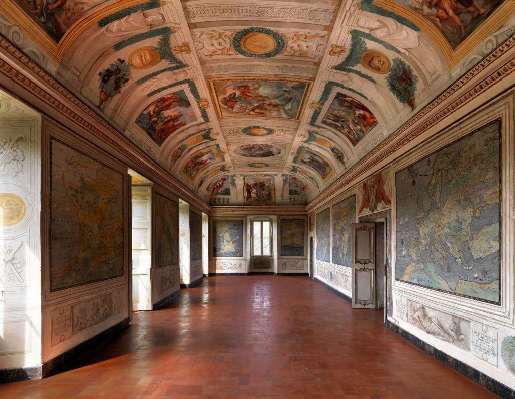 Villa Chigi - Affreschi interni. Credits: Castel Fusano. org