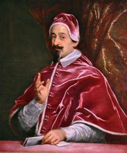 Ritratto del Cardinale Fabio Chigi - Papa Alessandro VII. Credits: Castel Fusano.org