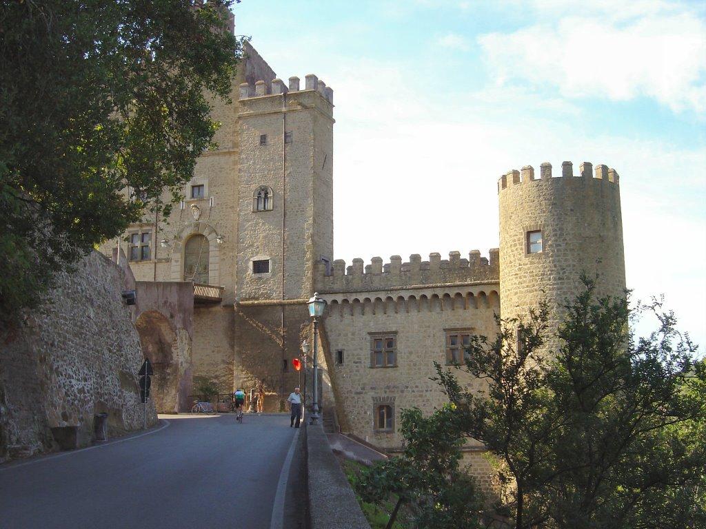 San Gregorio da Sassola - Castello Brancaccio - Credits: https://mapio.net/
