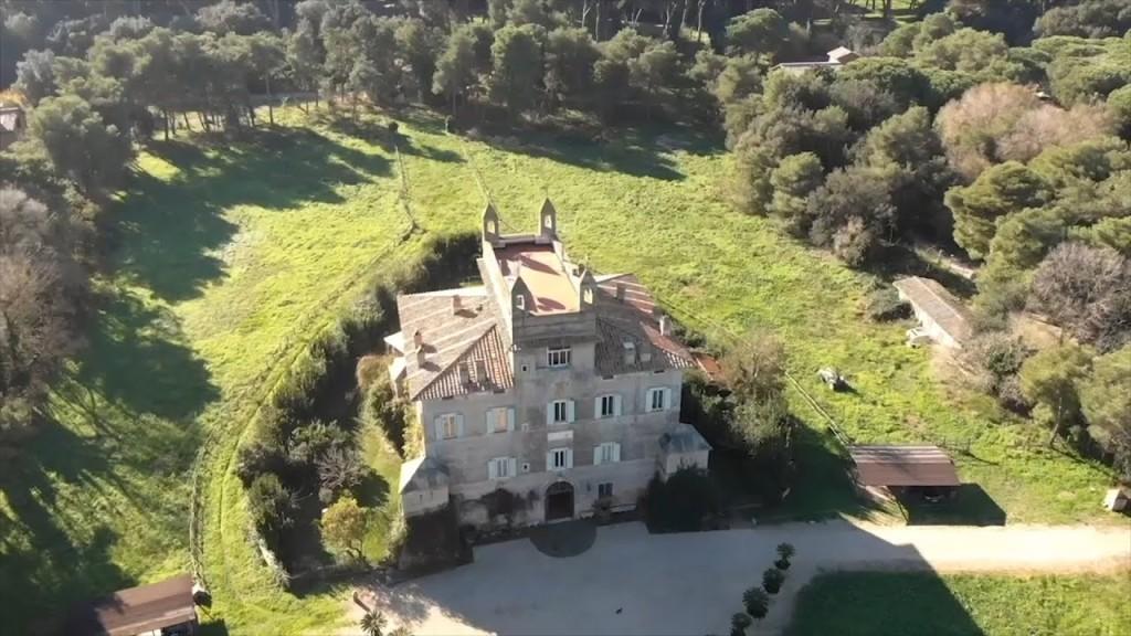 Villa Chigi - Panoramica dall'alto