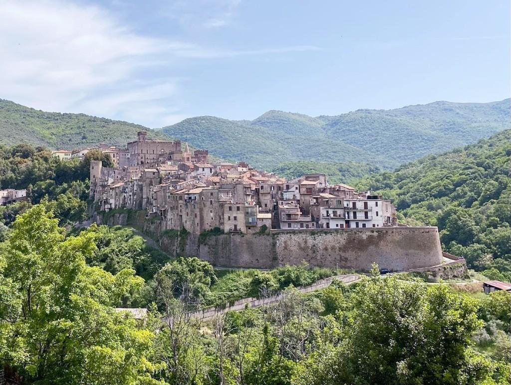 San Gregorio da Sassola - Vista Panoramica - Credits: https://bussoladiario.com/