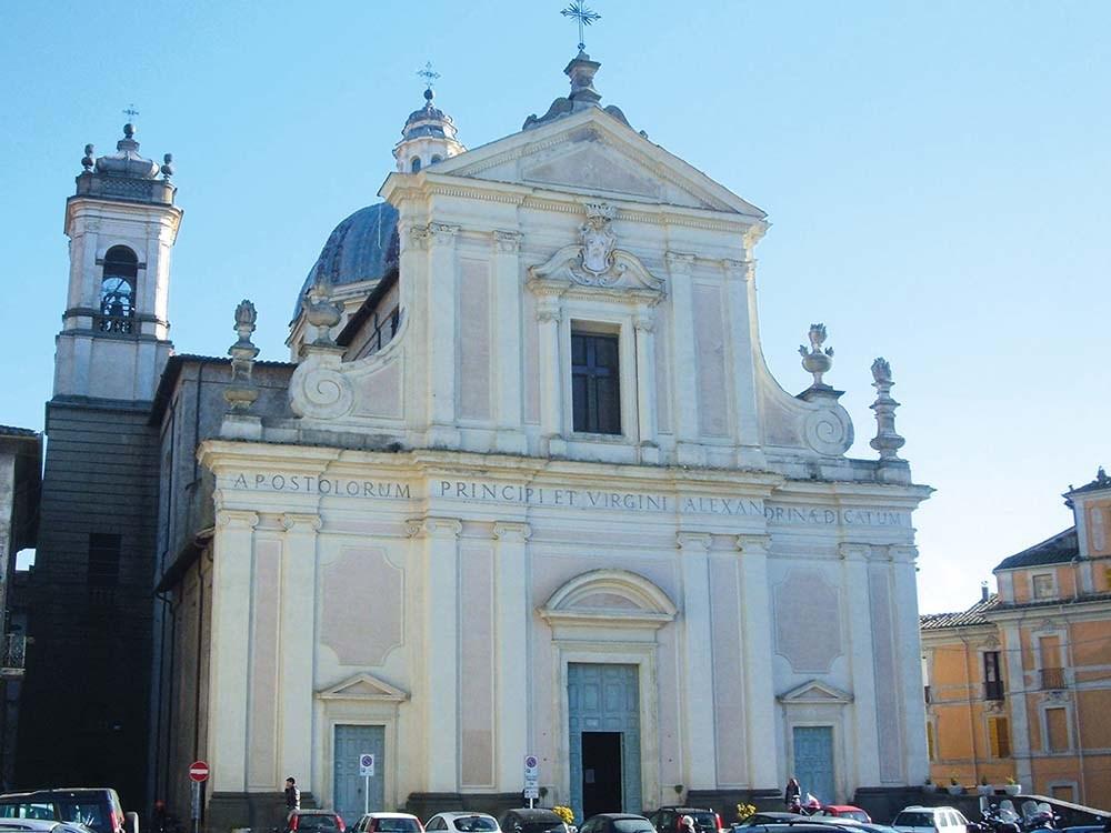 Ronciglione - Facciata del Duomo