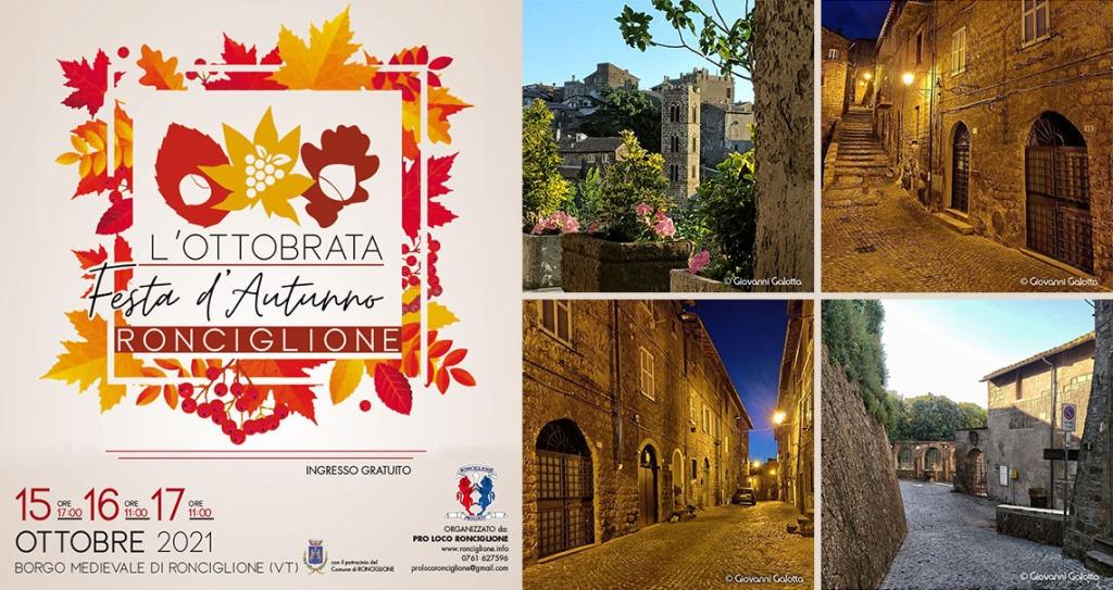 Ronciglione - Ottobrata - Festa d'Autunno - Credits: Proloco Ronciglione